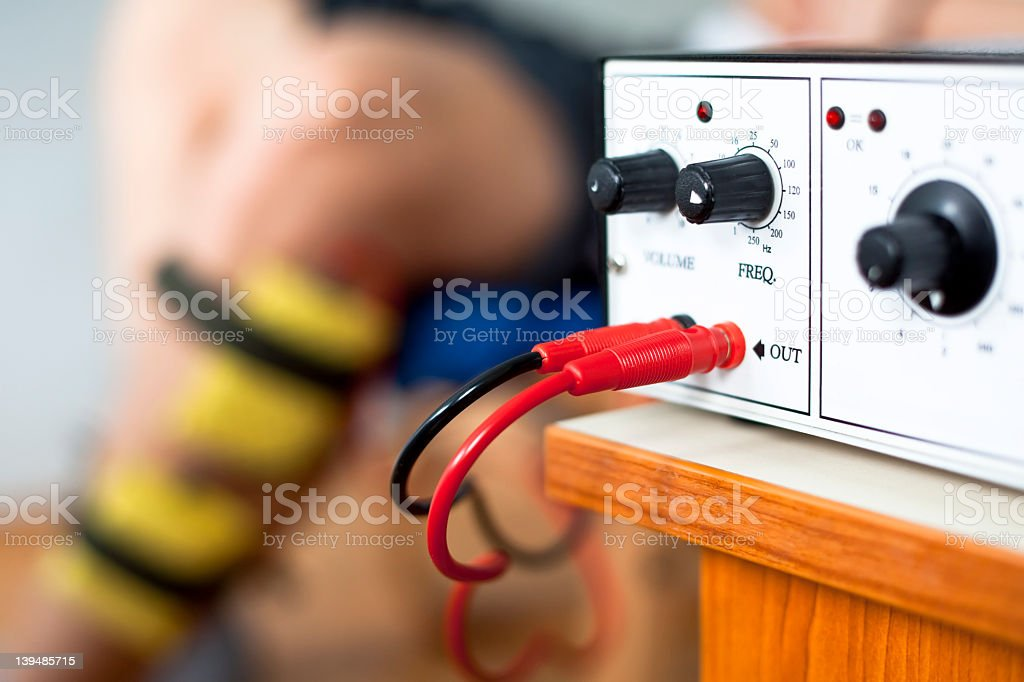 TENS electrostimulation unit royalty-free stock photo