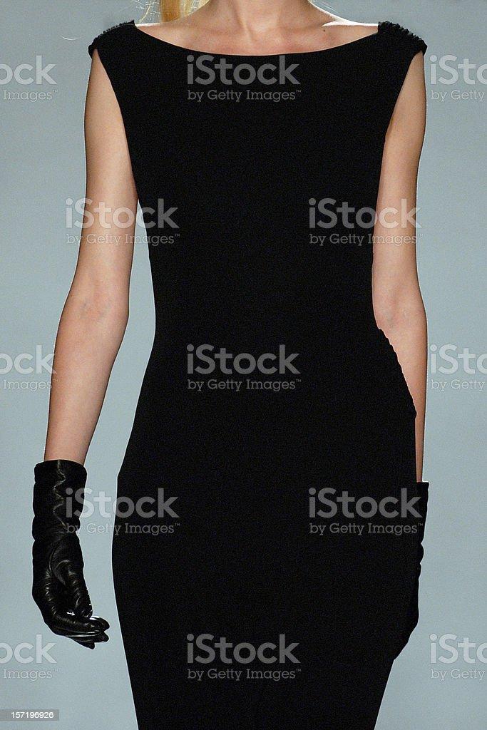 elegance in black royalty-free stock photo