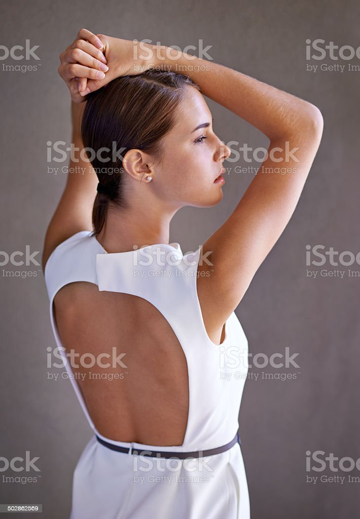 Elegance in business stock photo