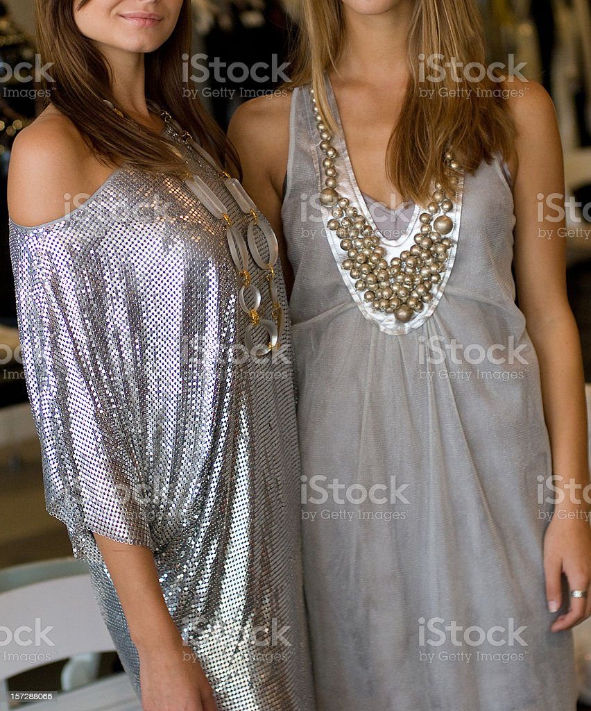 Elegance in silver royalty-free stock photo