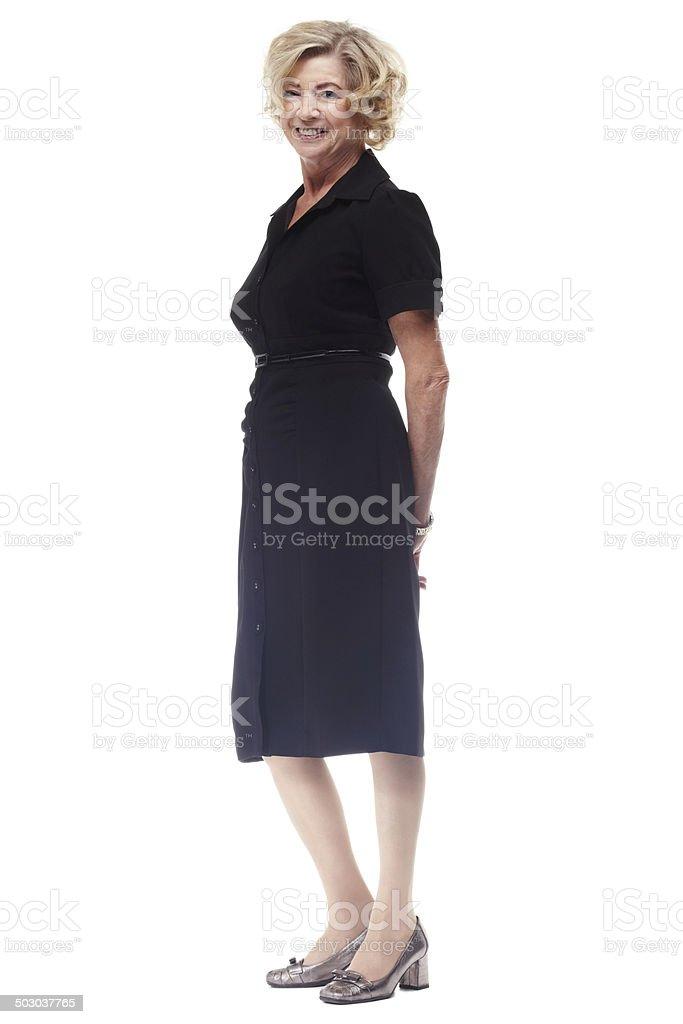 Elegance is ageless stock photo