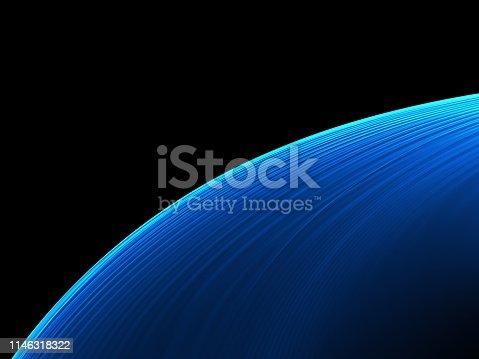 1088184696 istock photo Elegant Abstract Blue Wave Background 1146318322
