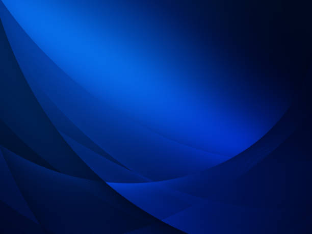 Elegant Abstract Blue Wave Background Elegant Abstract Blue Wave Background dark blue stock pictures, royalty-free photos & images