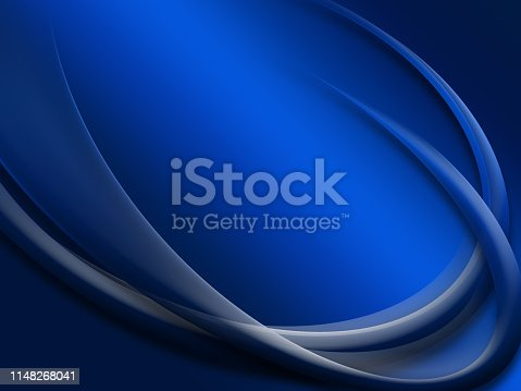 istock Elegant Abstract Blue Wave Background 1148268041