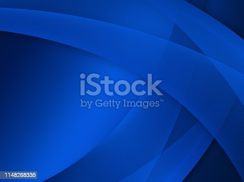 istock Elegant Abstract Blue Wave Background 1148268335