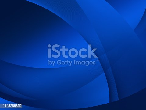 istock Elegant Abstract Blue Wave Background 1148268350