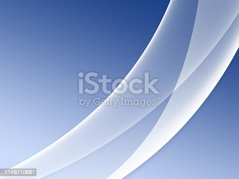istock Elegant Abstract Blue Wave Background 1149210681