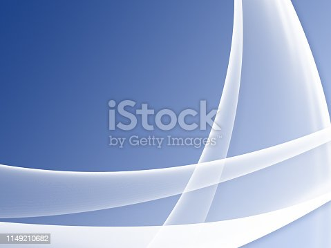 istock Elegant Abstract Blue Wave Background 1149210682