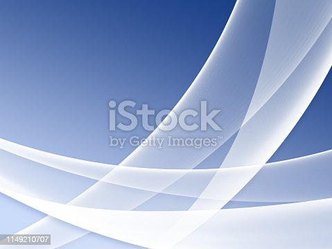 istock Elegant Abstract Blue Wave Background 1149210707