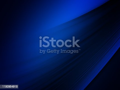 istock Elegant Abstract Blue Wave Background 1150954915