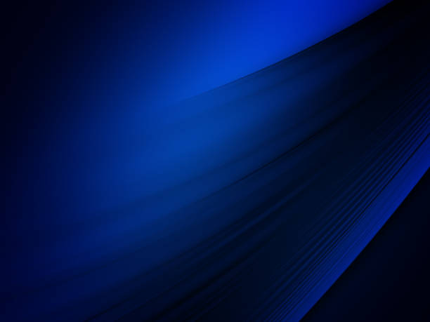 elegant abstract blue wave background - dark blue stock pictures, royalty-free photos & images