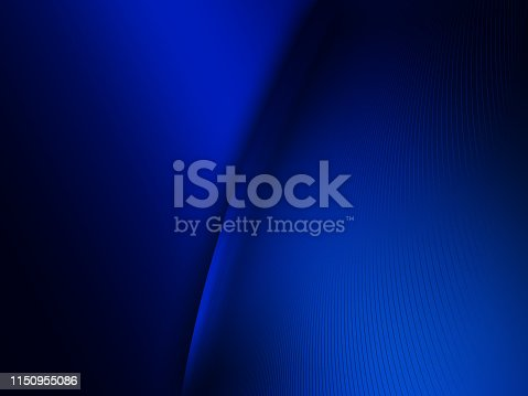 istock Elegant Abstract Blue Wave Background 1150955086