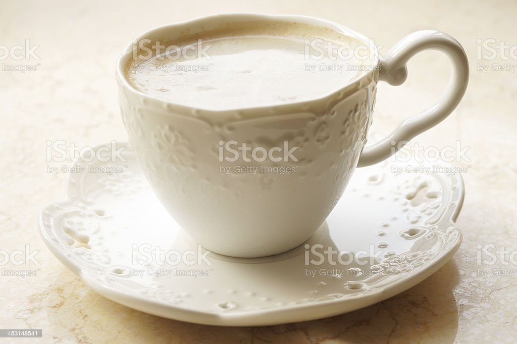 Elegant Afternoon Coffee royalty-free stock photo