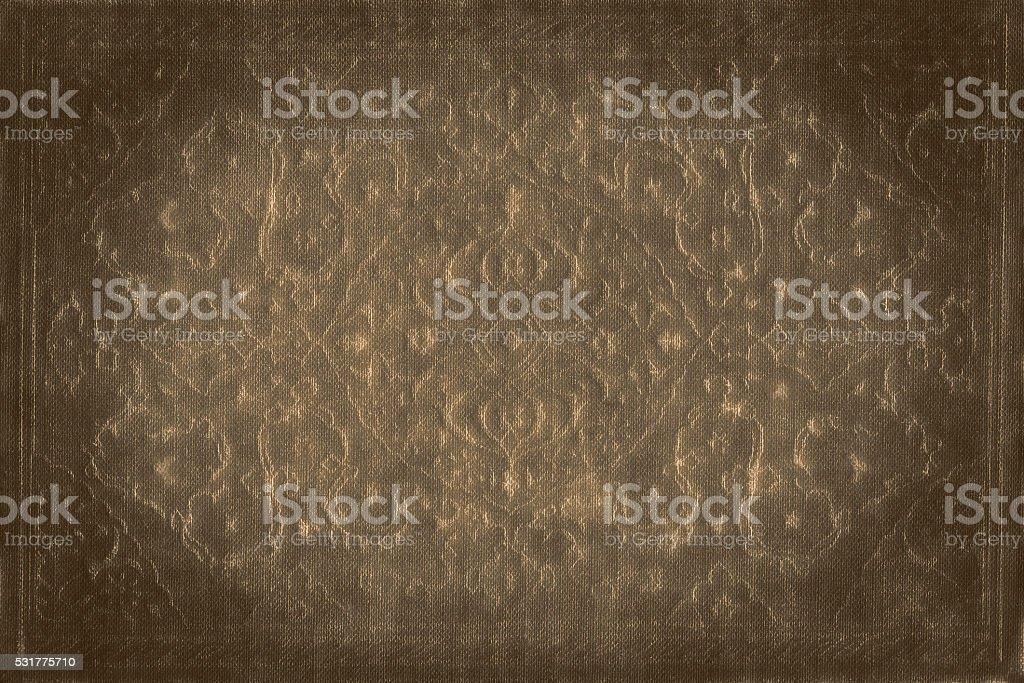 Elegante fundo antigo ornamental de ouro - foto de acervo