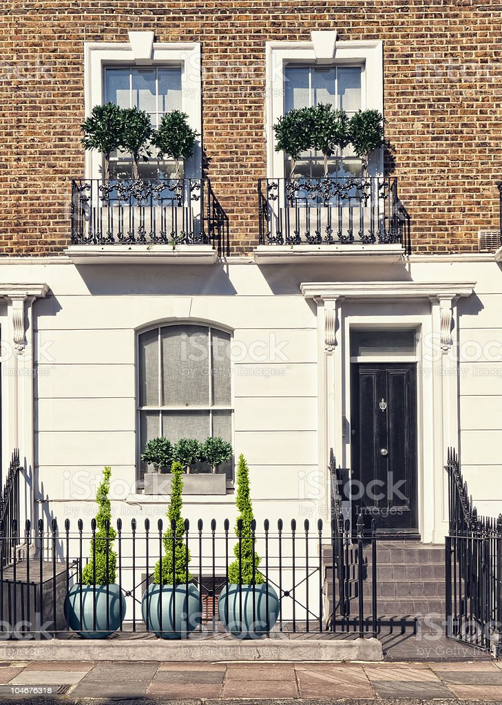 Elegant Apartment in London. stock photo