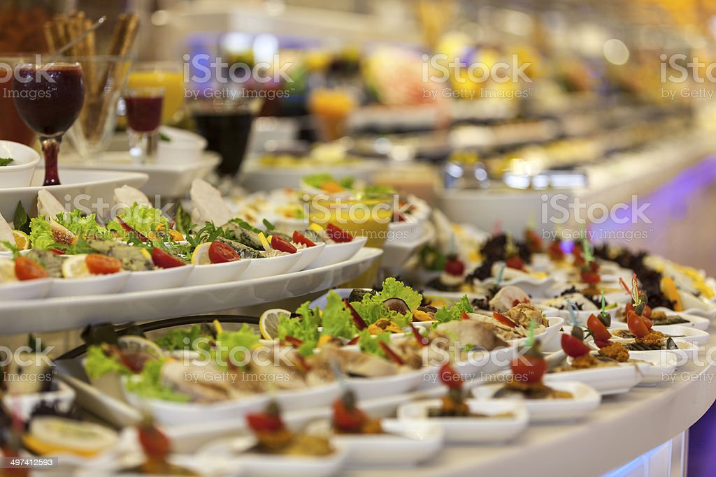 Elegant appetizer royalty-free stock photo