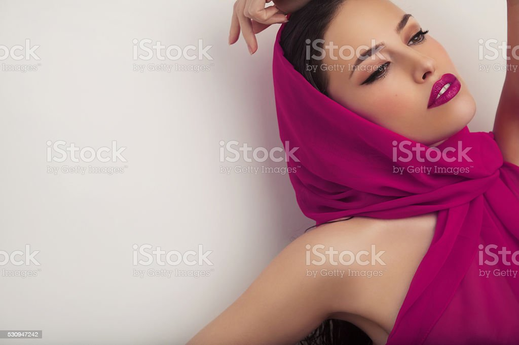 elegant beauty stock photo