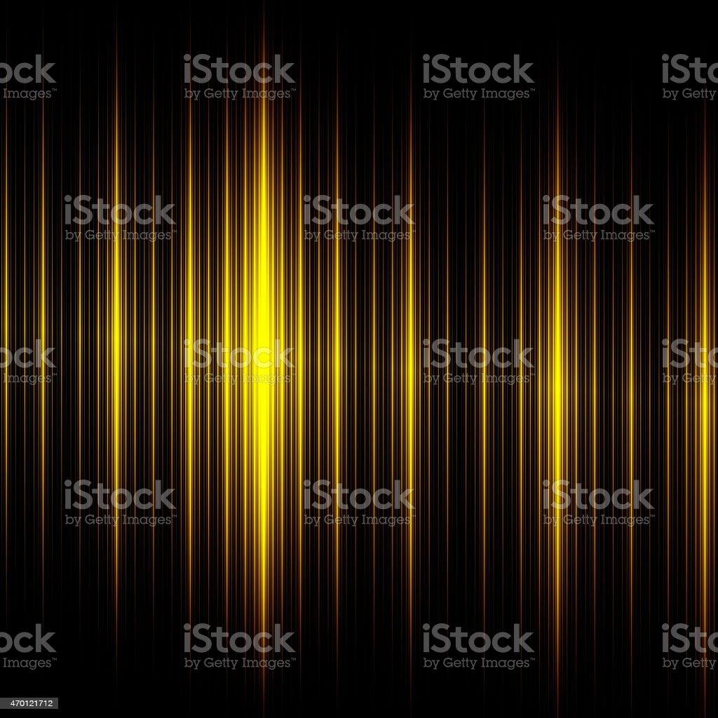 Elegant Black Yellow Lines Background. Beautiful Abstract Design. Creative Illustration. stock photo