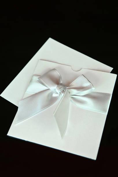 elegante einladung leer - herbst hochzeitseinladungen stock-fotos und bilder