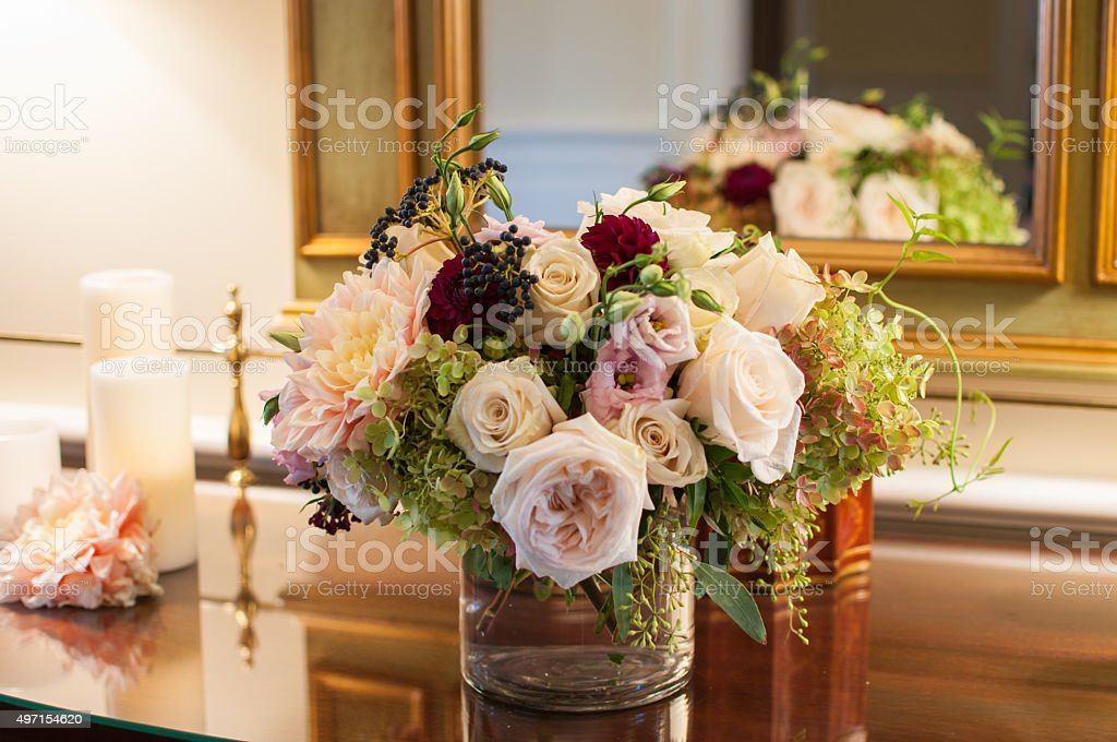 Elegant bouquet stock photo