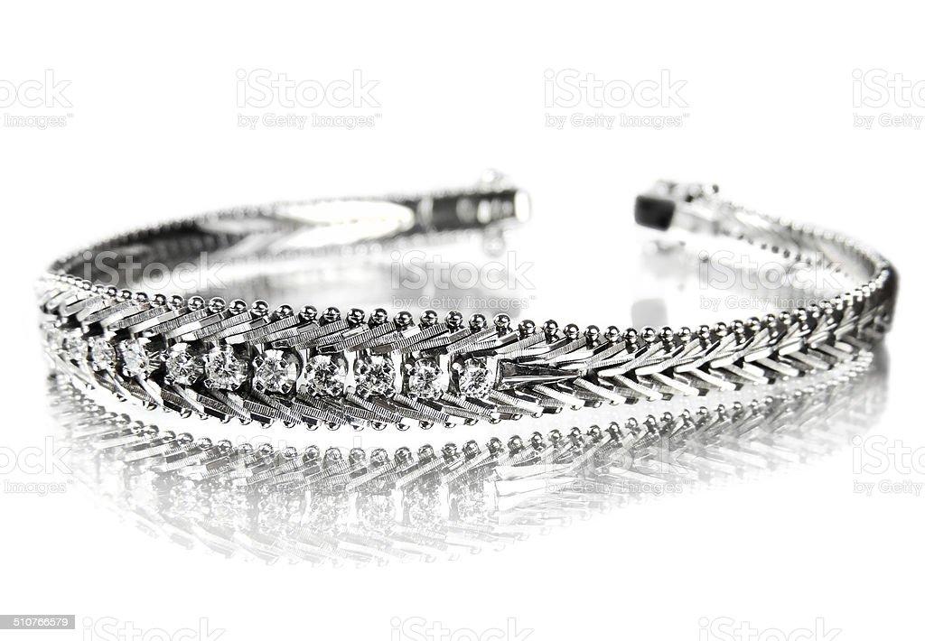 elegant bracelet stock photo