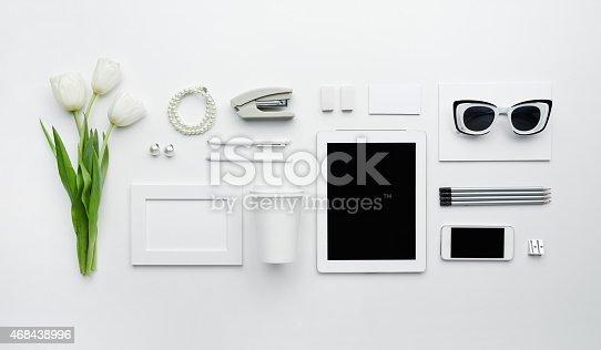istock Elegant business essentials 468438996