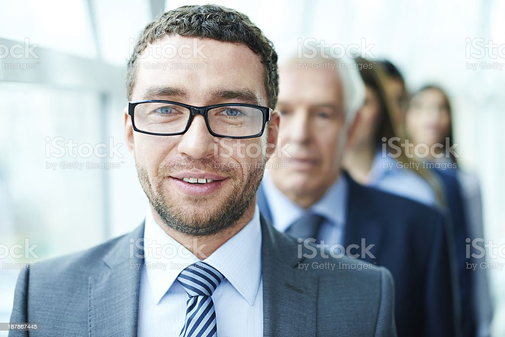 Elegant CEO royalty-free stock photo