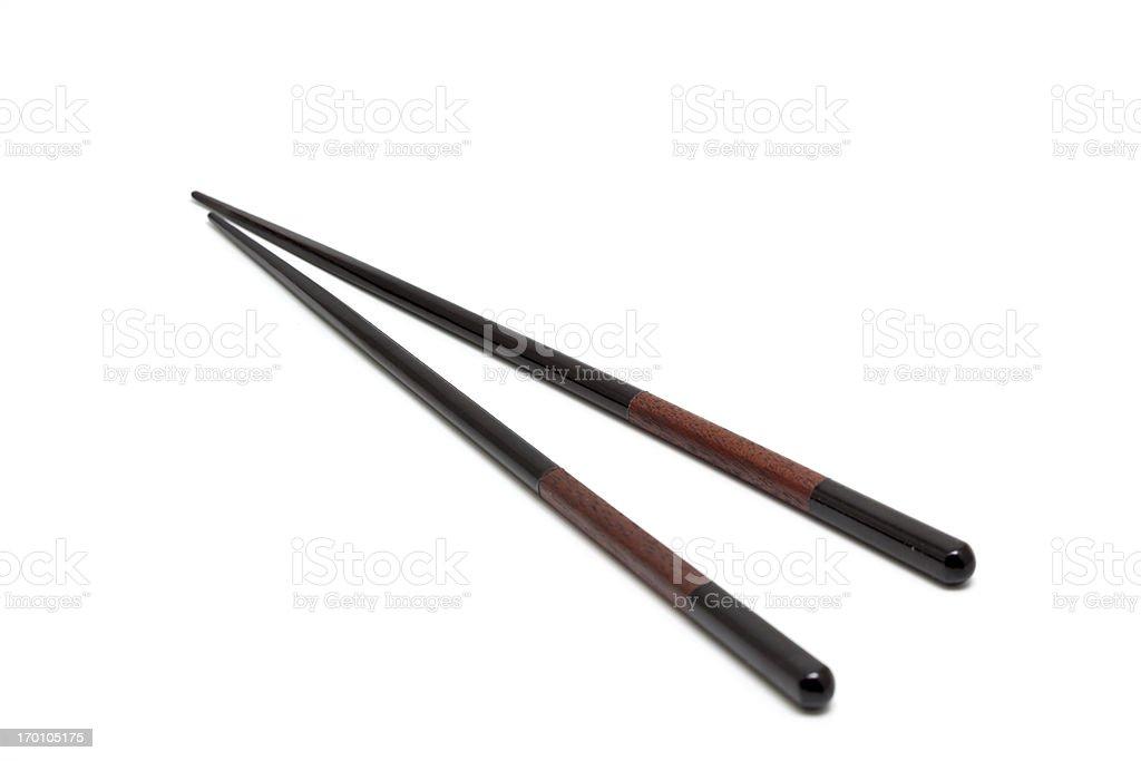 elegant chopsticks royalty-free stock photo