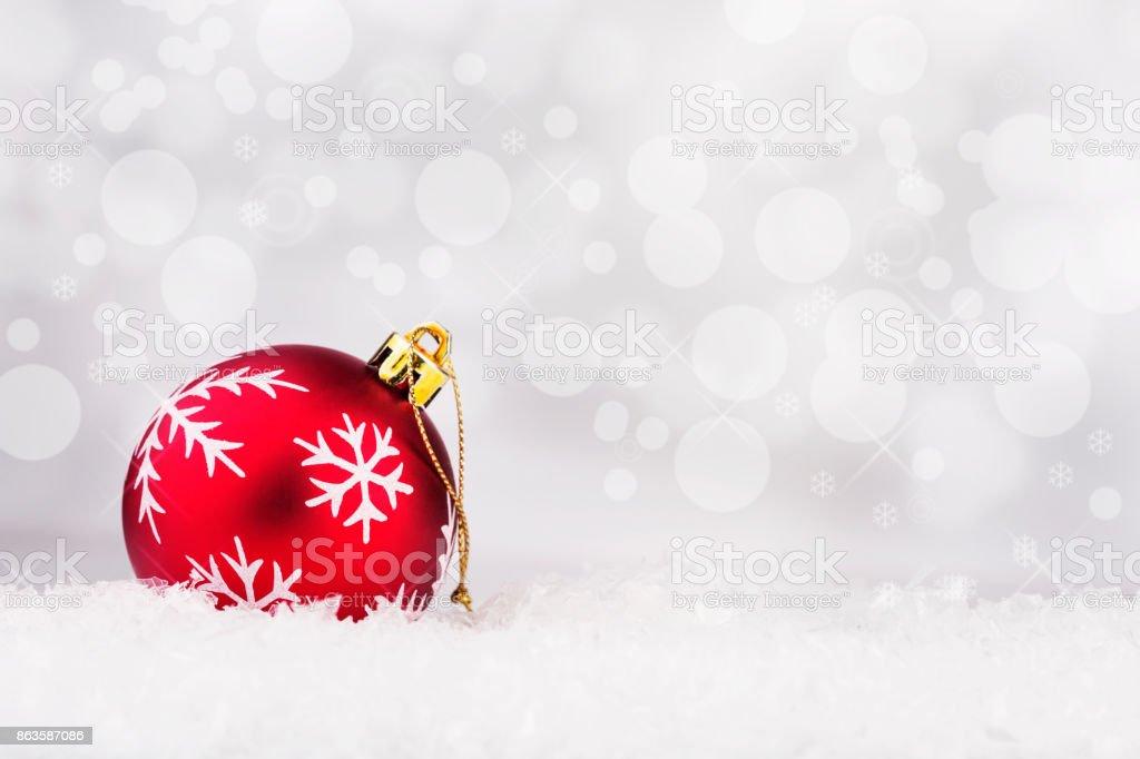 Elegant Christmas Background stock photo