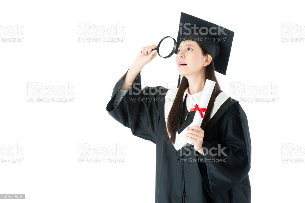 mulher de estudante de faculdade elegante acabou estudando - foto de acervo