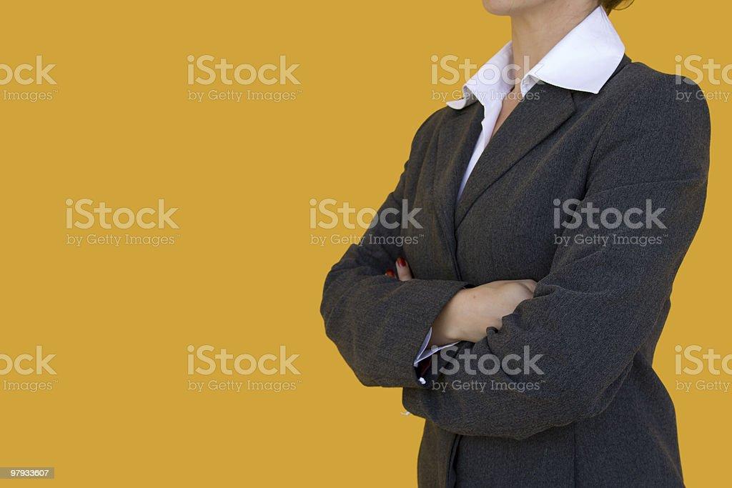 Elegant consultant royalty-free stock photo