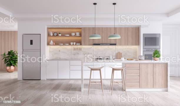 Elegant contemporary kitchen room interior 3drender picture id1028572366?b=1&k=6&m=1028572366&s=612x612&h=39n ezwe54cvxeahbxz0w5qghjiej mnubnvsx gfse=