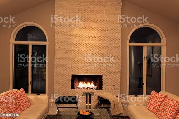 Elegant Contemporary Mid Century Living Room Stock Photo Download Image Now Istock