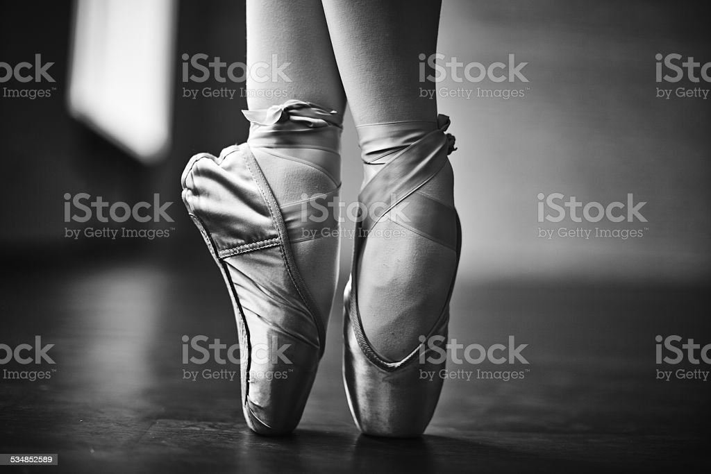 Elegant dance stock photo