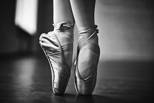 Elegant dance stock photo