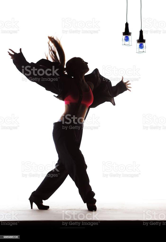 Elegant Dancer stock photo