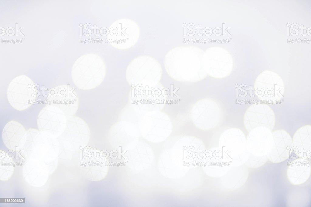 Elegant Defocused  Christmas background with snowflakes, bokeh stock photo