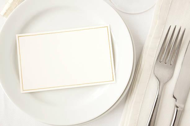 Elegant Dining. stock photo