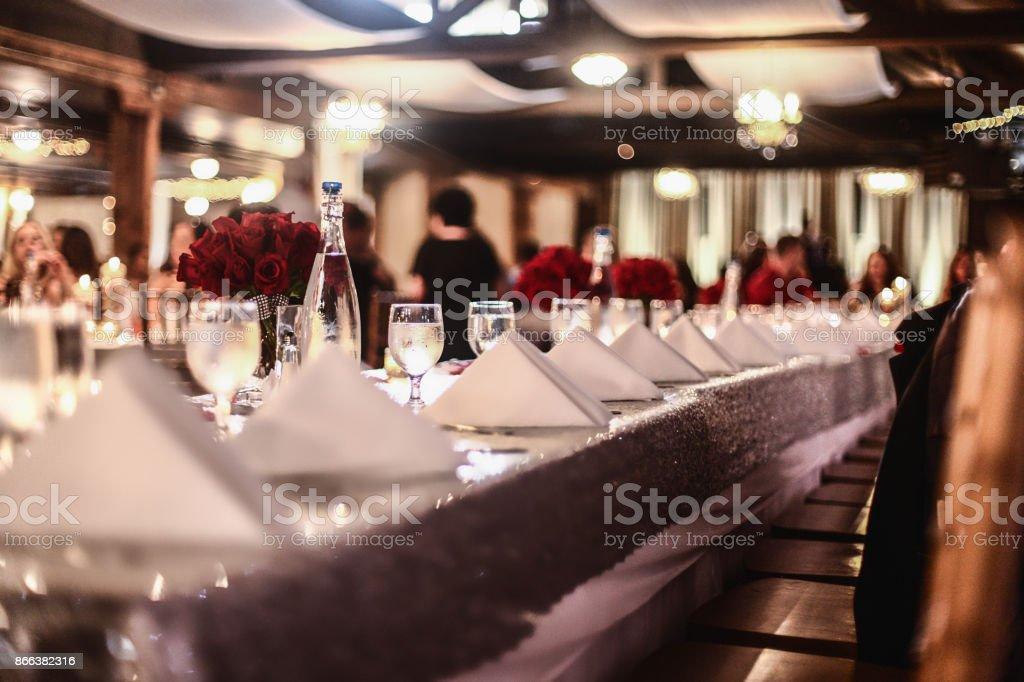 Elegant Dining stock photo