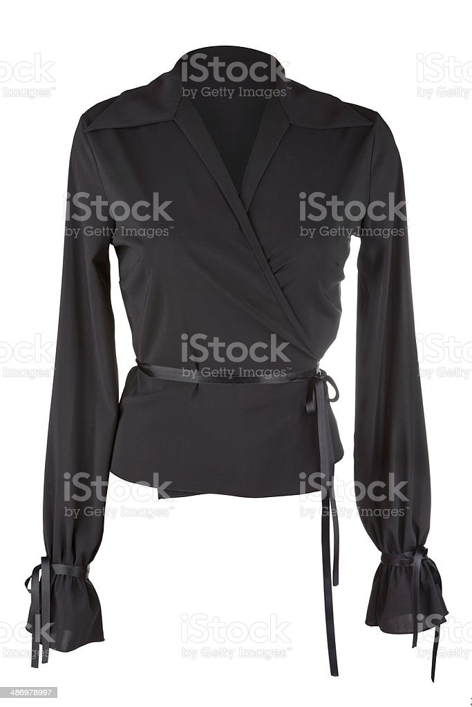 Elegant female blouse stock photo