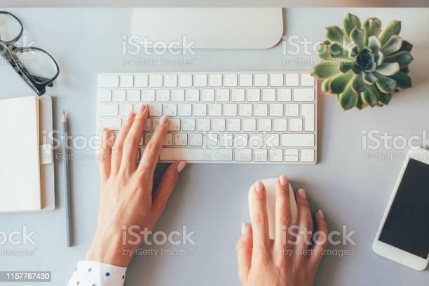 Elegant female hands on the keyboard of a personal computer in the picture id1157767430?b=1&k=6&m=1157767430&s=612x612&h=jpjg57b364hq bm3odklqzkkw3q7ebajrqft9 jzquu=
