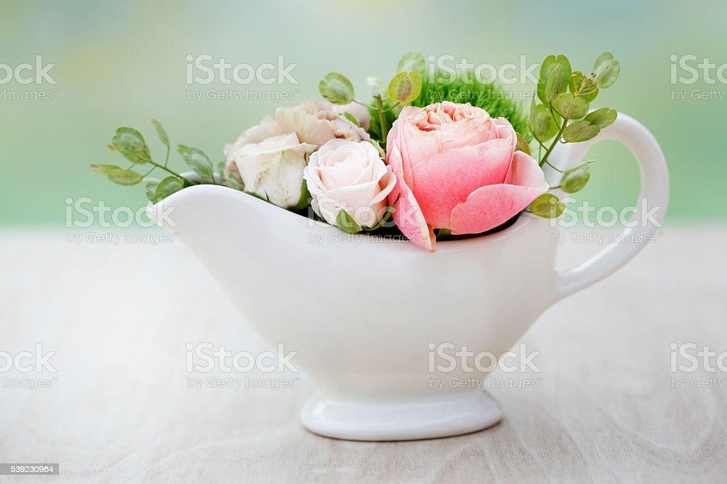 Elegant flower arrangement royalty-free stock photo
