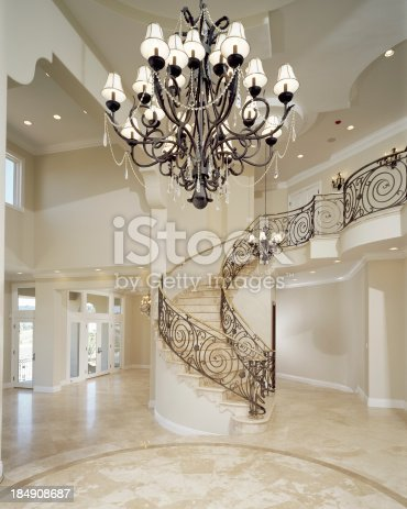 Elegant Foyer Stock Photo amp More Pictures Of Bannister