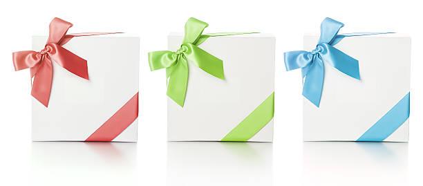 elegantes geschenk-boxen - foto collage geschenk stock-fotos und bilder