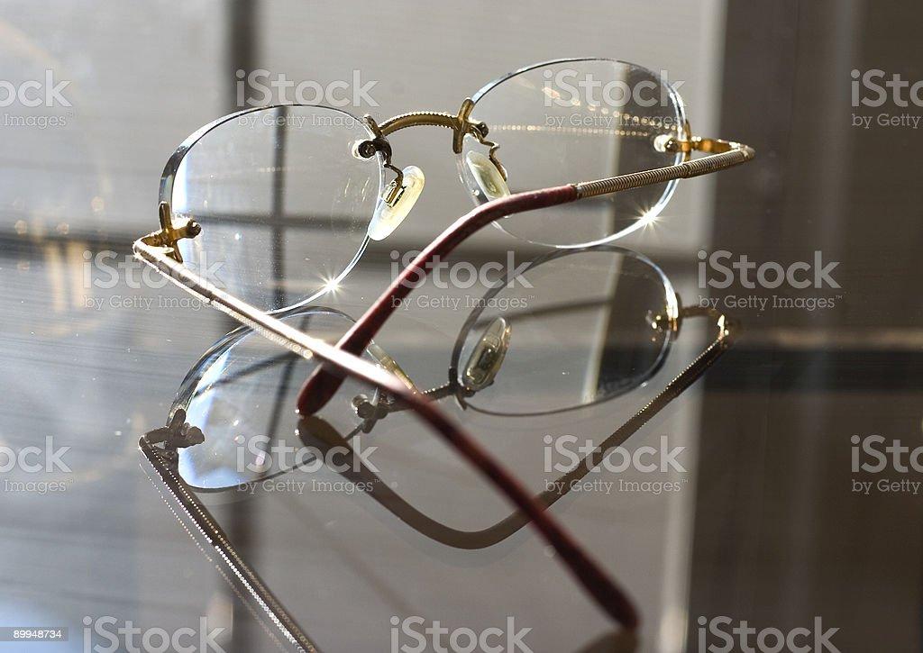 elegant glasses royalty-free stock photo
