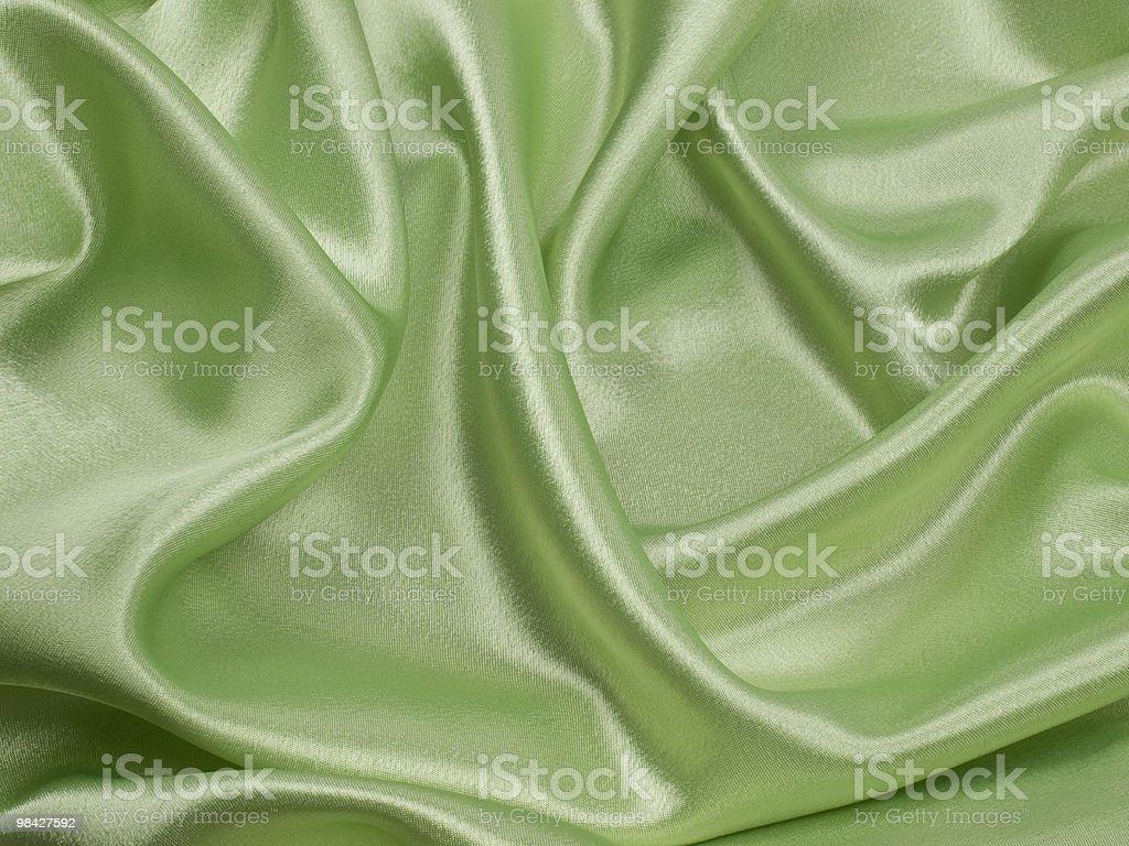 Elegant green ablaze  satin background royalty-free stock photo