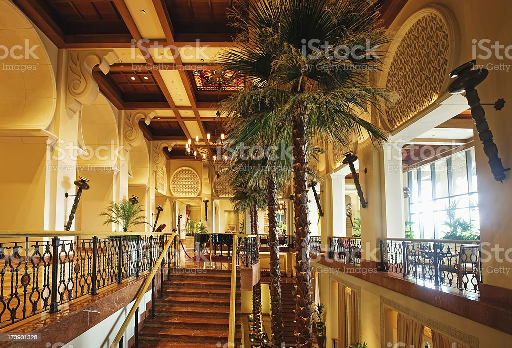 Elegant Hall stock photo