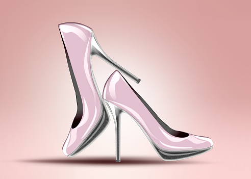 578573556 istock photo Elegant high heel shoes 535277811