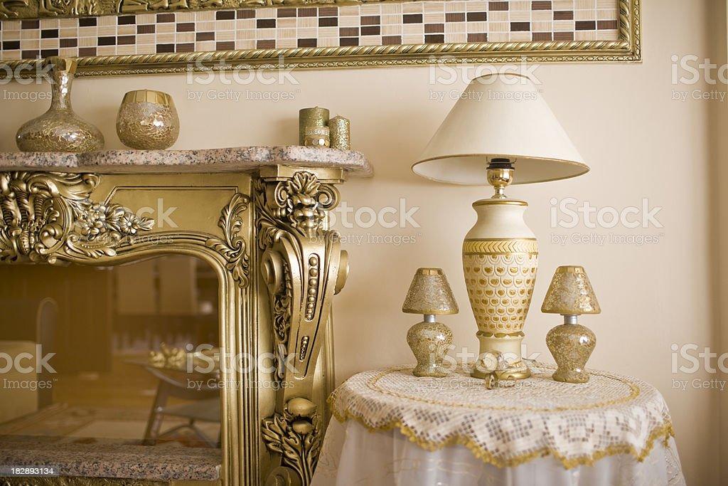Elegant Home Decor royalty-free stock photo