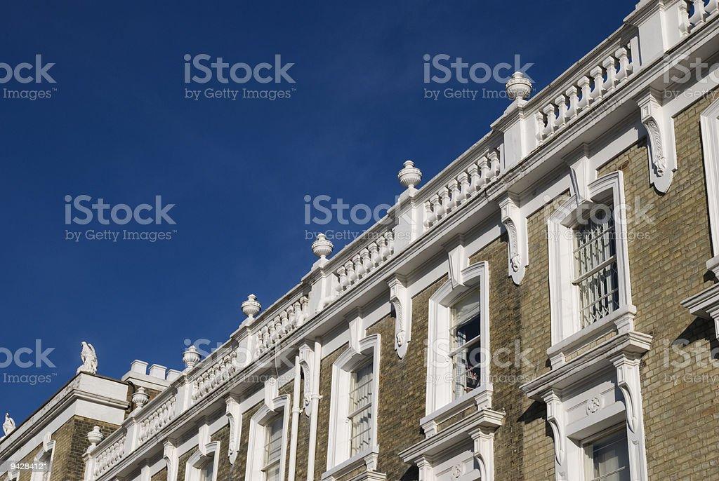 Elegant House at London. stock photo